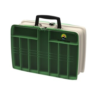 Wakeman Fishing Two Sided Tackle Box - 12 x 9 x 4 Inches https://ak1.ostkcdn.com/images/products/11722587/P18642598.jpg?_ostk_perf_=percv&impolicy=medium
