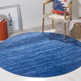 Safavieh Adirondack Modern Light Blue/ Dark Blue Rug (4' Round)