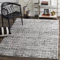 Safavieh Adirondack Modern Black/ Silver Rug - 4' Square