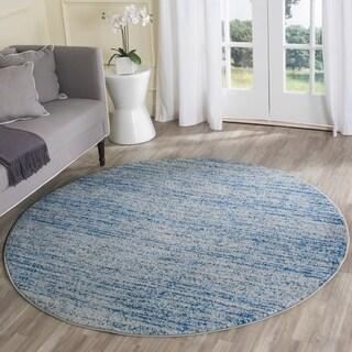 Safavieh Adirondack Modern Blue/ Silver Rug (4' Round)
