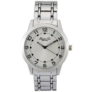 Kenneth Cole Men's 10014652 Classic Silver Watch https://ak1.ostkcdn.com/images/products/11722999/P18642856.jpg?impolicy=medium