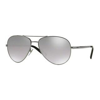 DKNY Men's DY5083 10036V Silver Metal Pilot Sunglasses