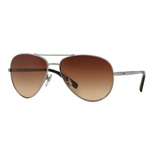 DKNY Men's DY5083 100313 Silver Metal Pilot Sunglasses