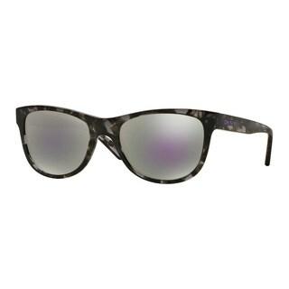 DKNY Men's DY4139 369925 Havana Plastic Square Sunglasses