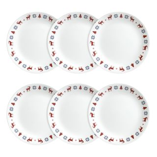 Corelle Livingware Crystal Frost Plates (Set of 6)