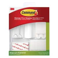 3M Command Picture Hanging Kit (38 Piece Club Pack)