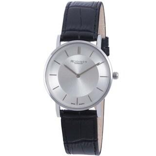 Rudiger Mens Kassel Leather Calfskin Black Watch