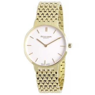 Rudiger Mens Kassel Stainless steel Gold Watch