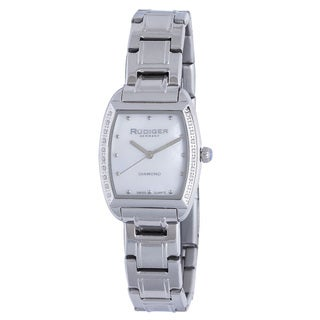 Rudiger Womens Bonn Stainless Steel Silver Watch