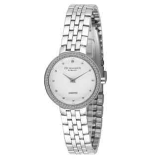 Rudiger Womens Hesse Stainless Steel Silver Watch
