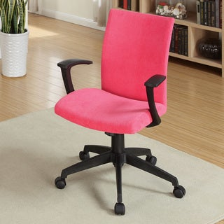 Furniture of America Carlin Adjustable Fabric Office Chair