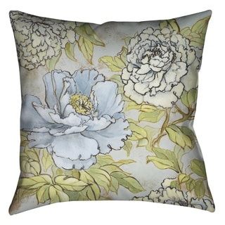 Laural Home Peony Garden I Decorative 18-inch Pillow