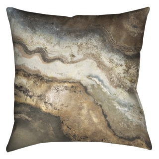 Laural Home Rock Flow Decorative 18-inch Pillow