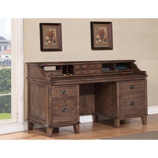 Bethany Smart Top Credenza with Pullout Work Area