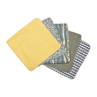 Trend Lab Nursery Baby Hello Sunshine 5 Pack Wash Cloth Set|https://ak1.ostkcdn.com/images/products/11723614/P18643394.jpg?impolicy=medium