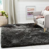Safavieh Supreme Shag Dark Grey Polyester Rug - 3' x 5'