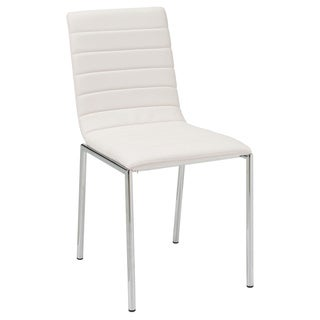 Link to Top Quality White PU Upholstered Dining Chair (Set of 4) Similar Items in Dining Room & Bar Furniture