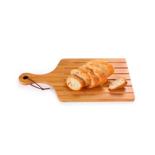 Culinary Edge by Kalorik Premium Bamboo 11-inch x 6-inch Serving Board