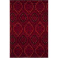 Safavieh Tunisia Red/ Orange Rug (3' x 5')