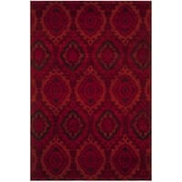 Safavieh Tunisia Red/ Orange Rug - 4' x 6'