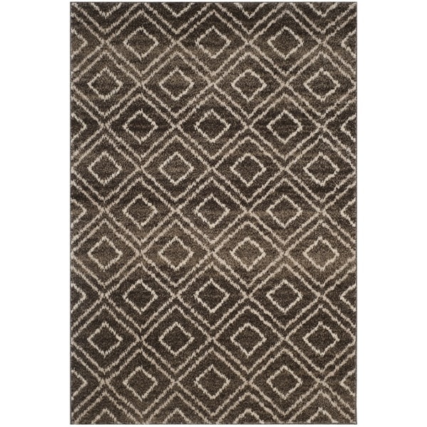Safavieh Tunisia Brown/ Cream Rug - 3' x 5'
