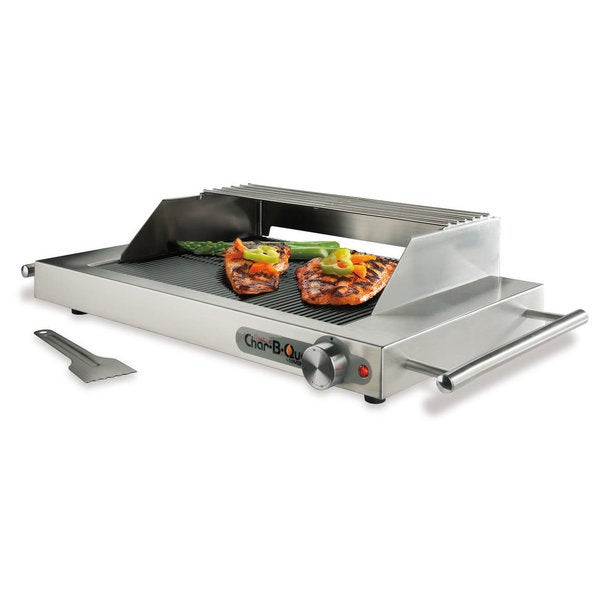 Maverick Char B Que E 50S Tabletop Electric Grill