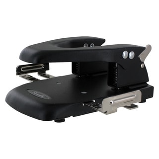 Swingline 22-Sheet Automatic Centering Black 2-Hole Steel Punch