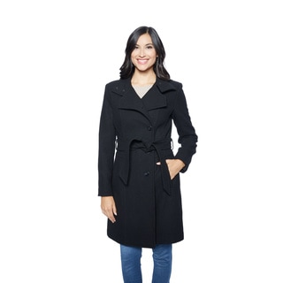 Kenneth Cole Women's Wool Wrap Coat