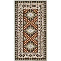 Safavieh Veranda Chocolate/ Terracotta Rug - 2' 7 x 5'