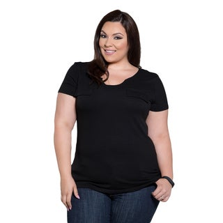 Sealed with a Kiss Women's Plus Size Marie Top