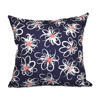 Penelope Floral Geometric 20 x 20-inch Outdoor Pillow