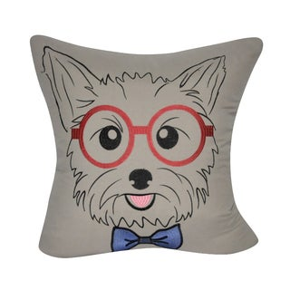 Loom and Mill 22 x 22-inch Yorkie Decorative Pillow