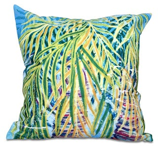 Malibu Floral Print 20 x 20-inch Outdoor Pillow