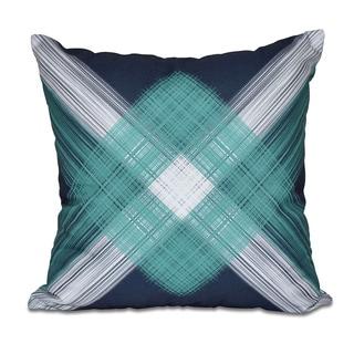 String Art Geometric Print 20 x 20-inch Outdoor Pillow