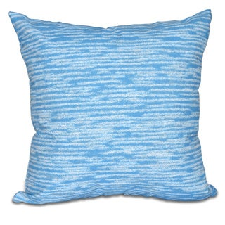 Marled Knit Geometric Print 20 x 20-inch Outdoor Pillow