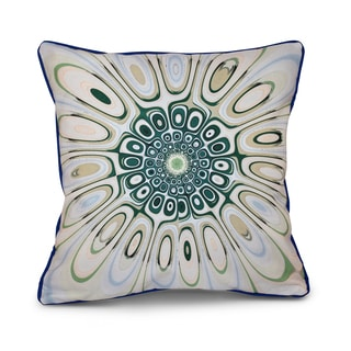 Psychedelic 70's Inside Out Designs Print 18 x 18-inch Pillow