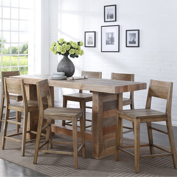 Amazing Oscar Reclaimed Wood 77 Inch Gathering Table By Kosas Home