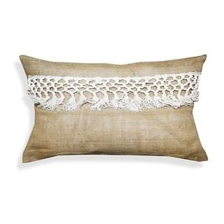Cherise 14 x 20-inch Jute Throw Pillow