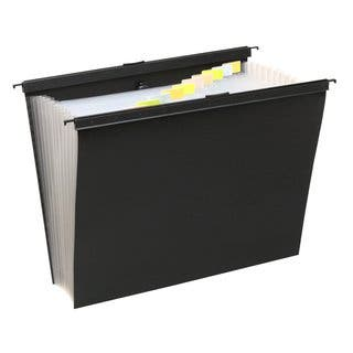 Wilson Jones 13 Pocket Expanding File w/ Slidebar, Letter Size, Black, Pack of 2 https://ak1.ostkcdn.com/images/products/11724208/P18643959.jpg?impolicy=medium