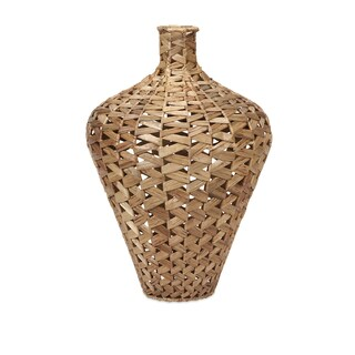 Lelei Large Woven Hyacinth Vase