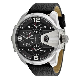 Diesel Men's DZ7376 Chief Round Black Strap Watch