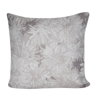 Loom and Mill 21 x 21-inch Chrysanthemums Decorative Pillow