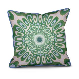 Psychedelic 70's Inside Out Designs Print 20 x 20-inch Pillow