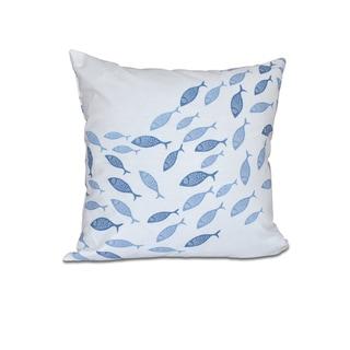 Escuela Animal Print 18 x 18-inch Outdoor Pillow