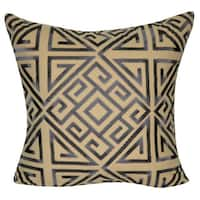 Loom and Mill 22 x 22-inch Geometric Decorative Throw Pillow