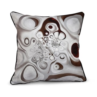 Oppositional Blend Inside Out Designs Print 20 x 20-inch Pillow