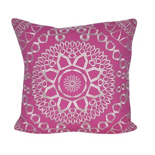 Loom and Mill 18 x 18-inch Sun Geo Decorative Pillow