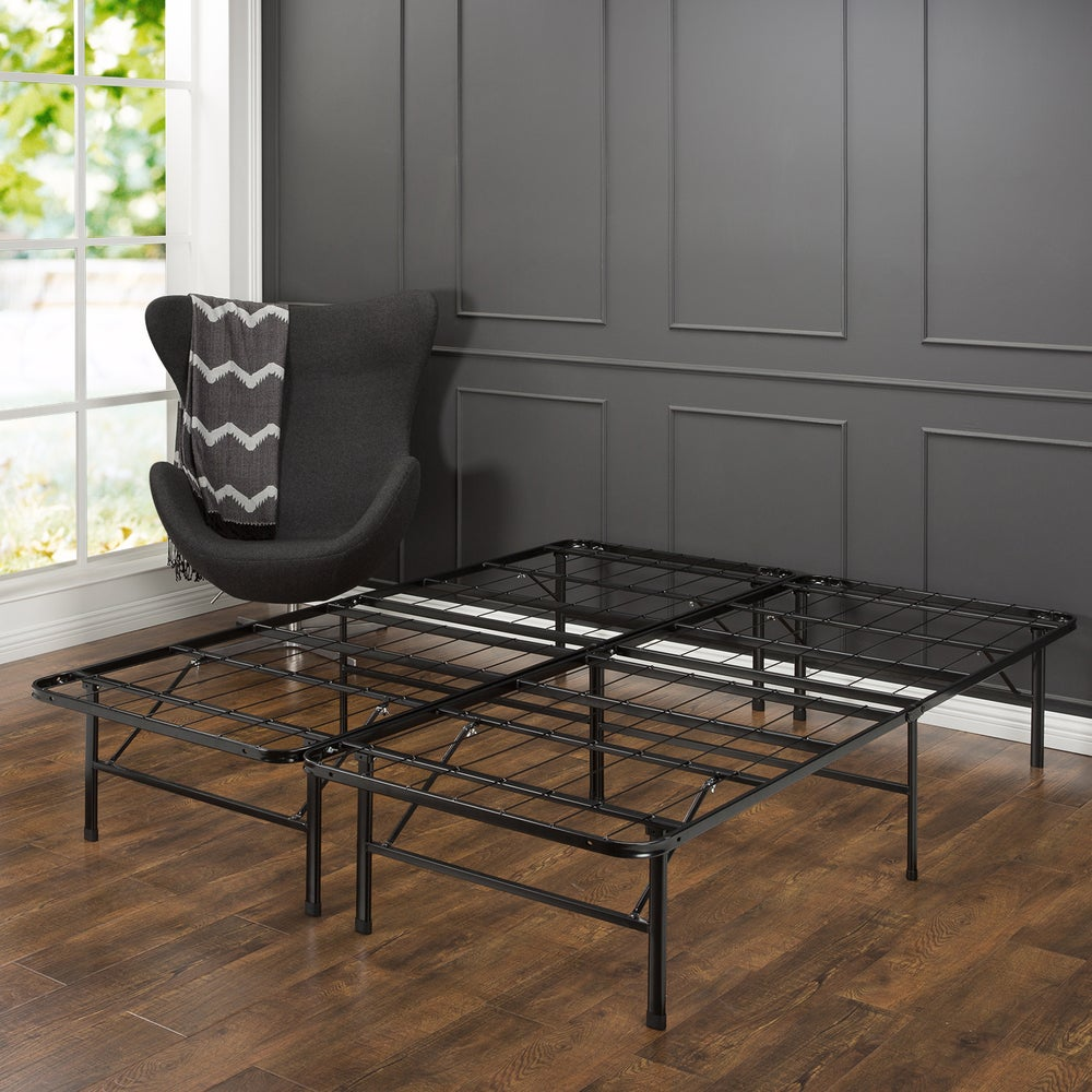 Priage by Zinus SmartBase Steel Platform Bed Frame, California King (California King)