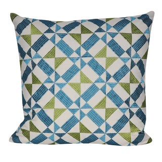 Loom and Mill 18 x 18-inch Spun Geo Decorative Pillow