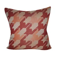 Loom and Mill 22 x 22-inch Houndstooth Decorative Throw Pillow